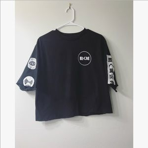 Dope Cropped Japanese Shirt